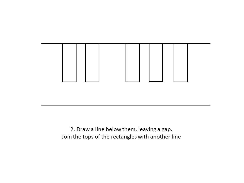 Line Art Keyboard : Keyboard line drawing